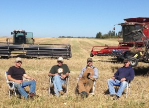 The Zwingli Harvest Crew September 14, 2012